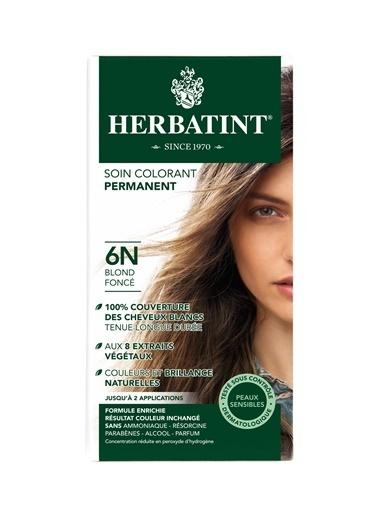 Herbatint HERBATINT 6N Dark Blonde (Koyu Sarı) 150 ml Bitkisel Saç Boyası Renksiz
